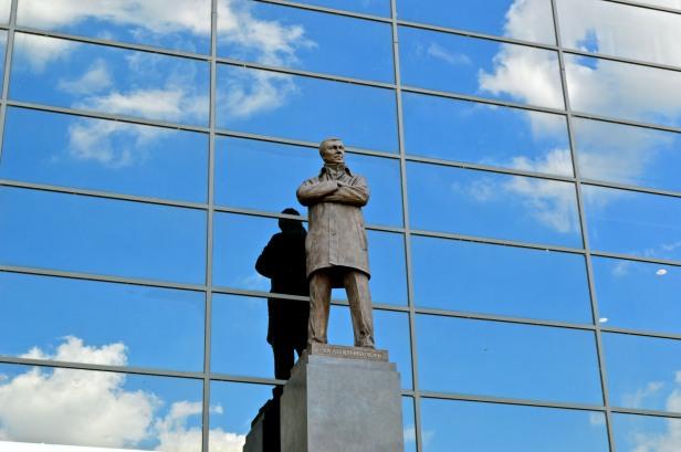 Sir Alex Ferguson Statue, Old Trafford